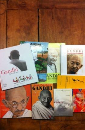 Gandhi acteur de la non-violence