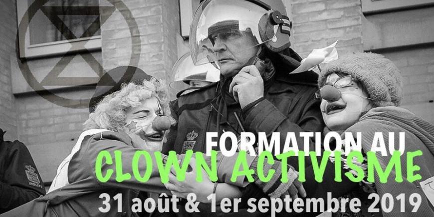 Formation au clown activisme